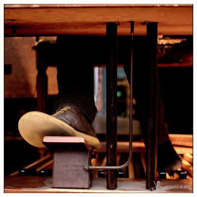 tuxen-fod-på hammmond